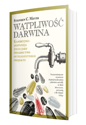 """Okładka książki """"Wątpliwość Darwina"""""""